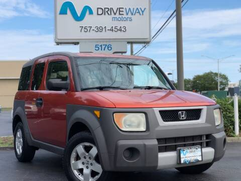 2003 Honda Element for sale at Driveway Motors in Virginia Beach VA