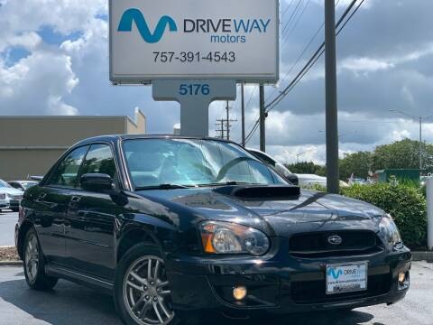 2005 Subaru Impreza for sale at Driveway Motors in Virginia Beach VA