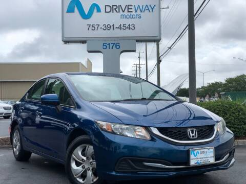 2015 Honda Civic for sale at Driveway Motors in Virginia Beach VA