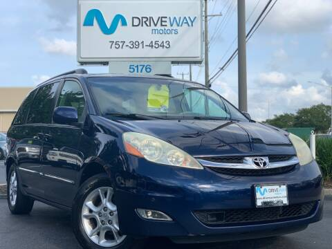 2006 Toyota Sienna for sale at Driveway Motors in Virginia Beach VA