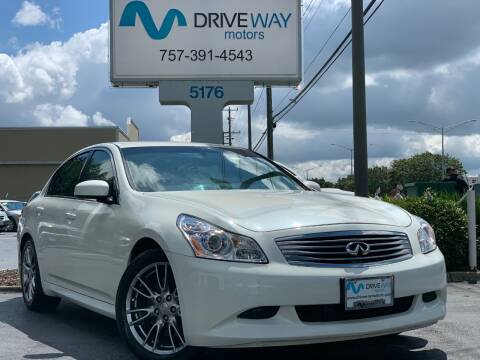 2007 Infiniti G35 for sale at Driveway Motors in Virginia Beach VA