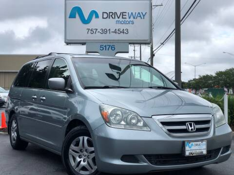 2006 Honda Odyssey for sale at Driveway Motors in Virginia Beach VA