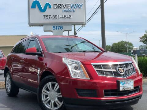 2011 Cadillac SRX for sale at Driveway Motors in Virginia Beach VA