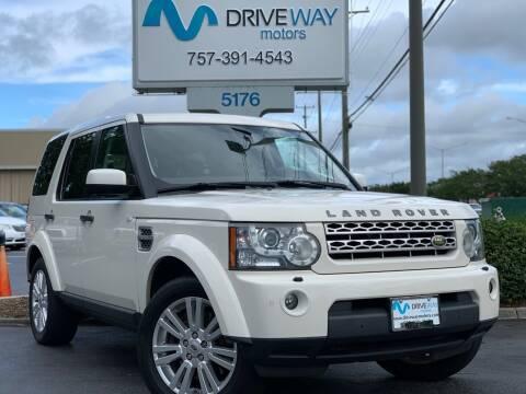 2010 Land Rover LR4 for sale at Driveway Motors in Virginia Beach VA