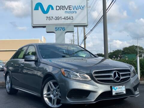 2014 Mercedes-Benz E-Class for sale at Driveway Motors in Virginia Beach VA