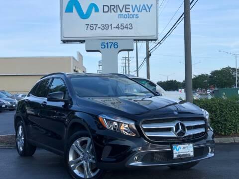 2015 Mercedes-Benz GLA for sale at Driveway Motors in Virginia Beach VA