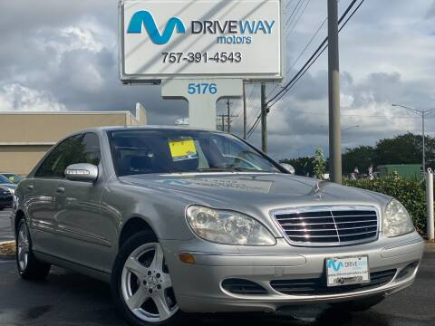 2004 Mercedes-Benz S-Class for sale at Driveway Motors in Virginia Beach VA