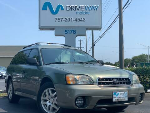 2003 Subaru Outback for sale at Driveway Motors in Virginia Beach VA