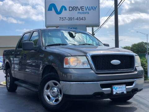 2007 Ford F-150 for sale at Driveway Motors in Virginia Beach VA
