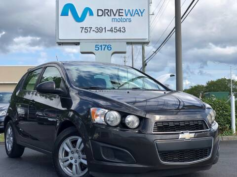 2014 Chevrolet Sonic for sale at Driveway Motors in Virginia Beach VA