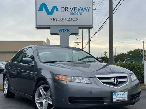 2006 Acura TL for sale at Driveway Motors in Virginia Beach VA