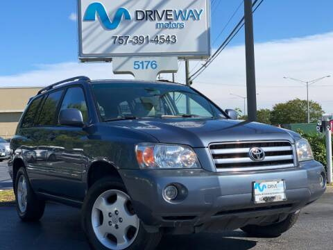 2005 Toyota Highlander for sale at Driveway Motors in Virginia Beach VA