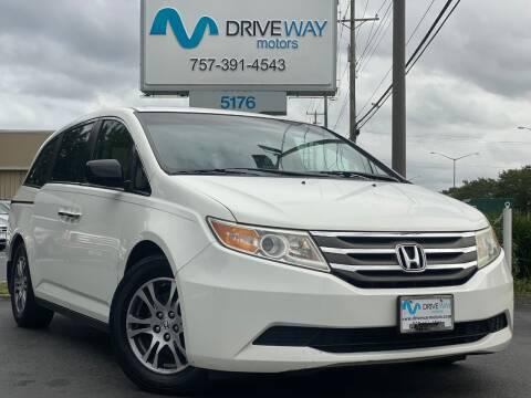 2013 Honda Odyssey for sale at Driveway Motors in Virginia Beach VA