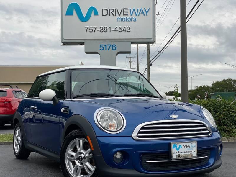 2013 MINI Hardtop for sale at Driveway Motors in Virginia Beach VA