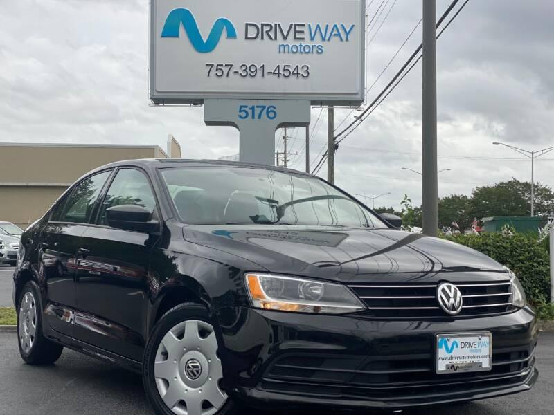 2015 Volkswagen Jetta for sale at Driveway Motors in Virginia Beach VA