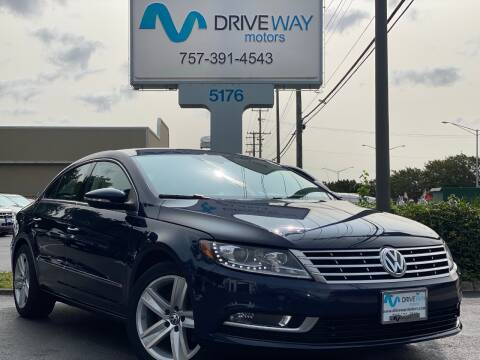 2015 Volkswagen CC for sale at Driveway Motors in Virginia Beach VA