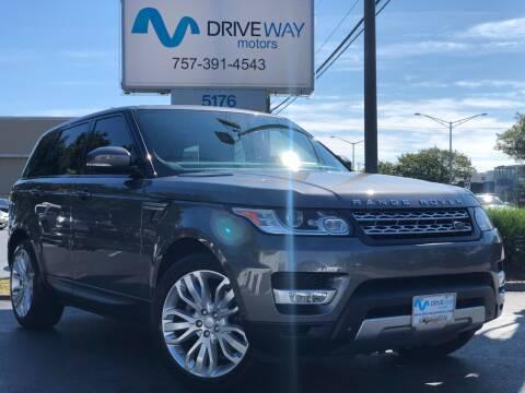 2014 Land Rover Range Rover Sport for sale at Driveway Motors in Virginia Beach VA
