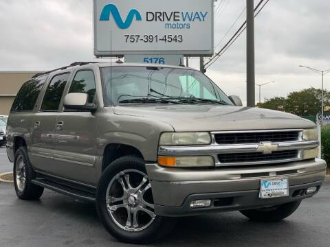 2003 Chevrolet Suburban for sale at Driveway Motors in Virginia Beach VA
