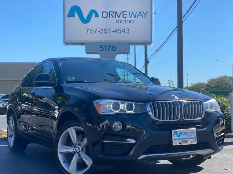 2016 BMW X4 for sale at Driveway Motors in Virginia Beach VA