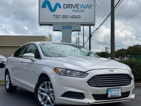 2014 Ford Fusion for sale at Driveway Motors in Virginia Beach VA