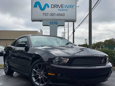 2012 Ford Mustang for sale at Driveway Motors in Virginia Beach VA