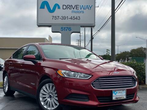 2015 Ford Fusion Hybrid for sale at Driveway Motors in Virginia Beach VA