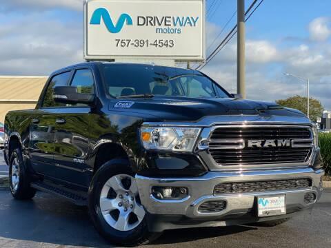 2019 RAM Ram Pickup 1500 for sale at Driveway Motors in Virginia Beach VA