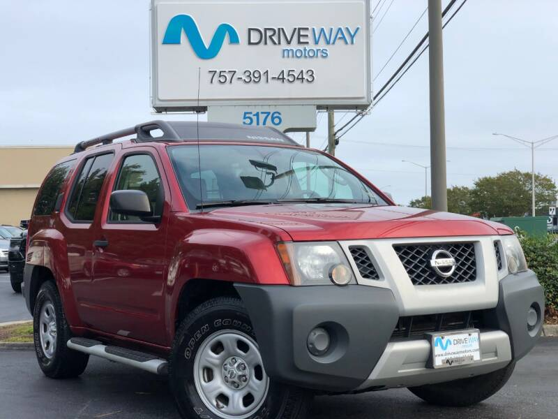 2012 Nissan Xterra for sale at Driveway Motors in Virginia Beach VA