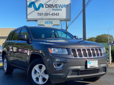 2014 Jeep Grand Cherokee for sale at Driveway Motors in Virginia Beach VA