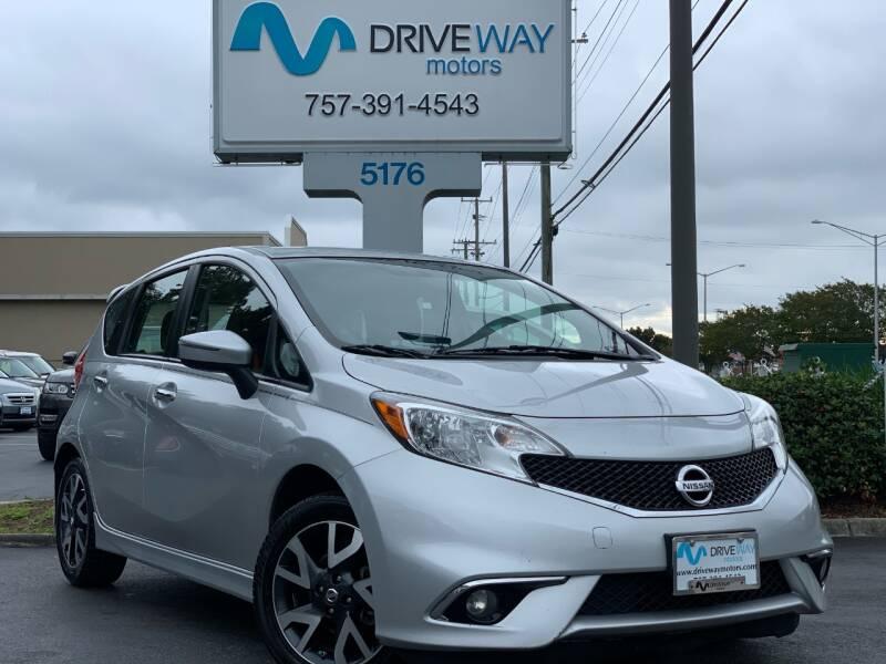 2016 Nissan Versa Note for sale at Driveway Motors in Virginia Beach VA
