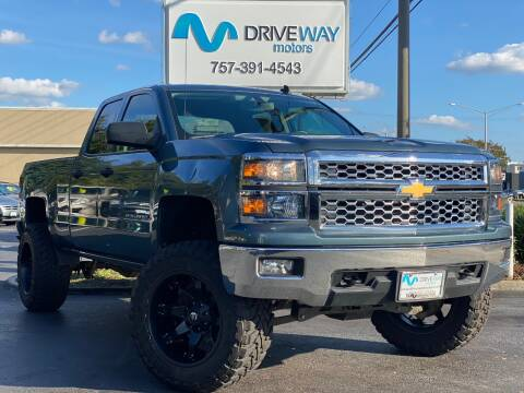 2014 Chevrolet Silverado 1500 for sale at Driveway Motors in Virginia Beach VA
