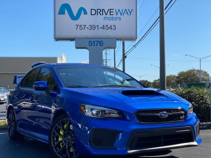 2019 Subaru WRX for sale at Driveway Motors in Virginia Beach VA