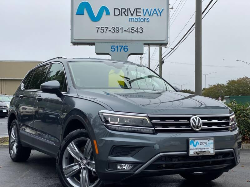2019 Volkswagen Tiguan for sale at Driveway Motors in Virginia Beach VA
