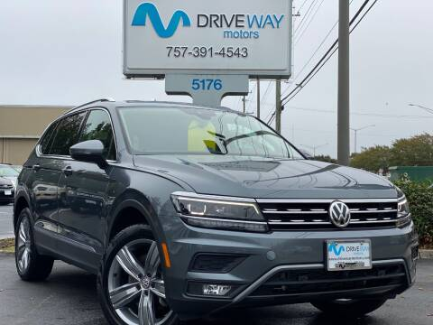 2019 Volkswagen Tiguan for sale at Driveway Motors in Virginia Beach VA