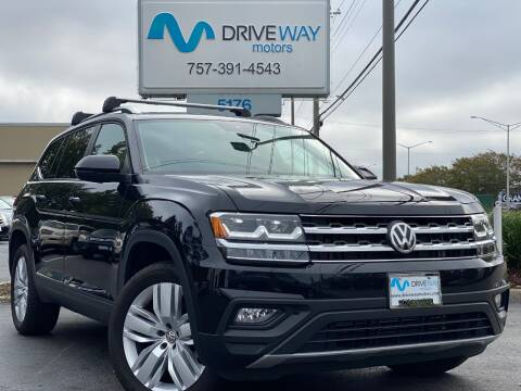 2019 Volkswagen Atlas for sale at Driveway Motors in Virginia Beach VA