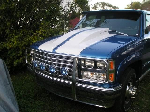 1988 GMC Sierra 3500 for sale at ZJ's Custom Auto Inc. in Roseville MI
