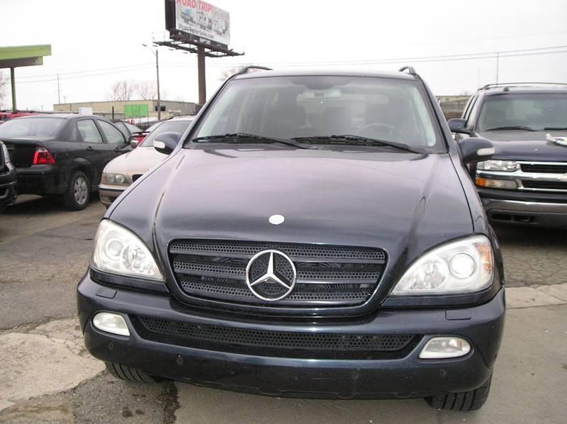 2002 Mercedes-Benz M-class car for sale in Detroit