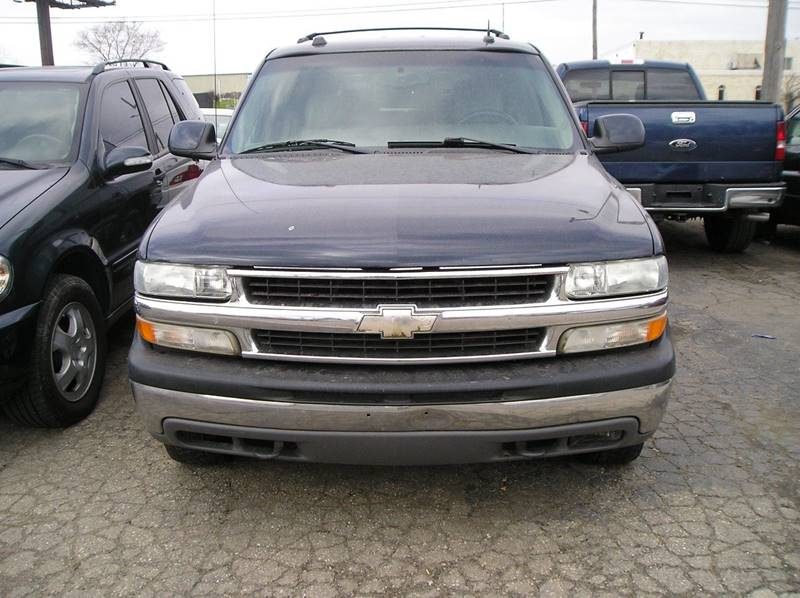 2004 Chevrolet Tahoe car for sale in Detroit