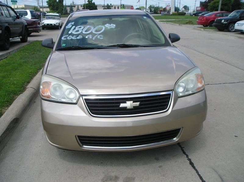 2006 Chevrolet Malibu car for sale in Detroit
