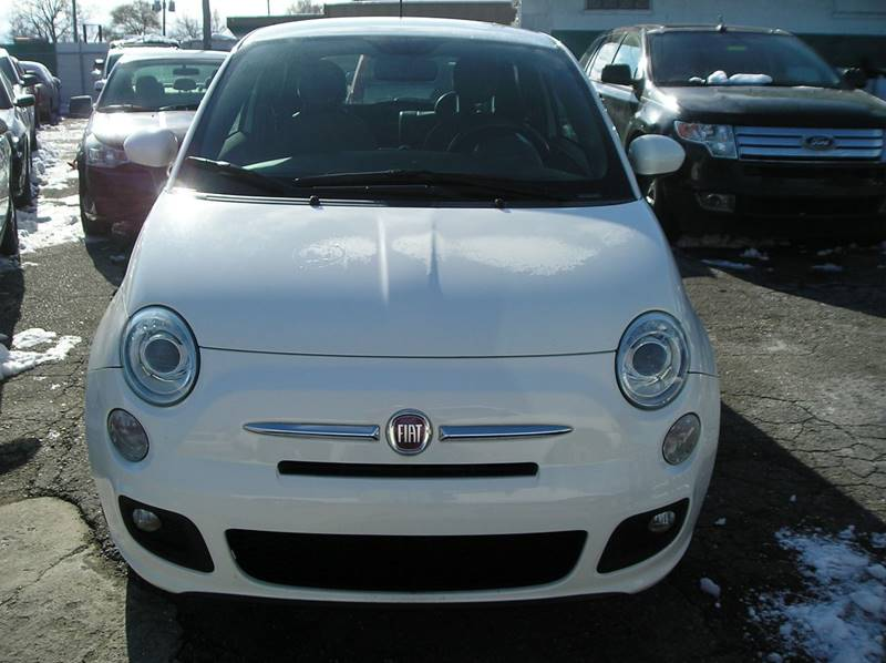 2012 Fiat 500 car for sale in Detroit