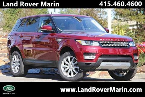 2017 Land Rover Range Rover Sport for sale in Corte Madera, CA