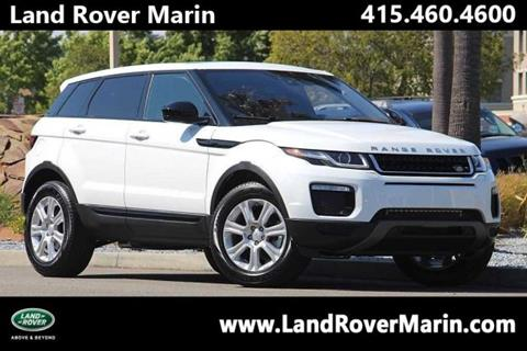 2017 Land Rover Range Rover Evoque for sale in Corte Madera, CA