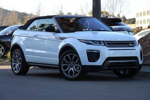 2018 Land Rover Range Rover Evoque Convertible For Sale In Corte Madera, CA