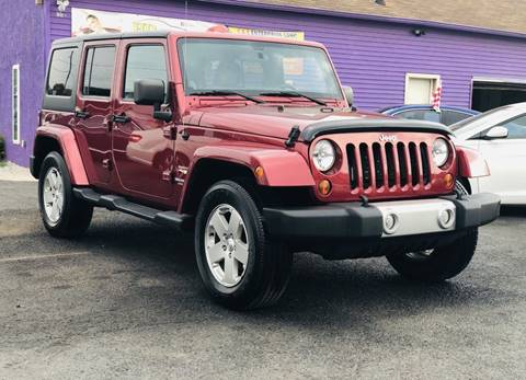 2012 Jeep Wrangler Unlimited for sale in Reading, PA