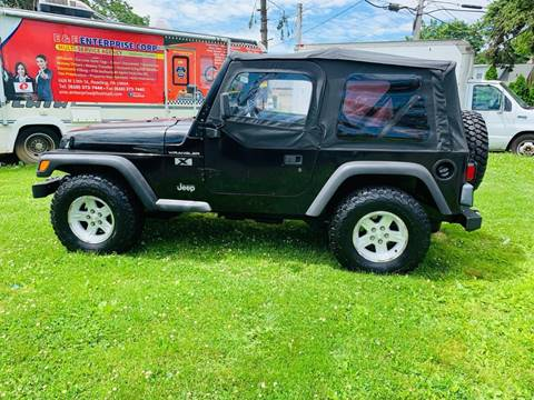 2002 Jeep Wrangler for sale in Reading, PA