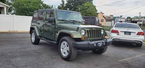 2007 Jeep Wrangler Unlimited for sale in Reading, PA
