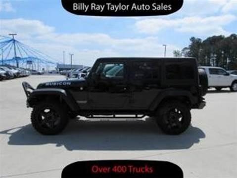 2012 Jeep Wrangler Unlimited for sale in Cullman, AL
