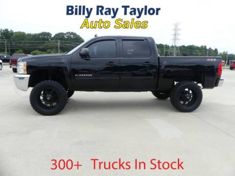 2012 Chevrolet Silverado 1500 for sale at Billy Ray Taylor Auto Sales in Cullman AL