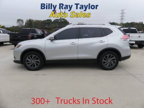 2016 Nissan Rogue for sale at Billy Ray Taylor Auto Sales in Cullman AL