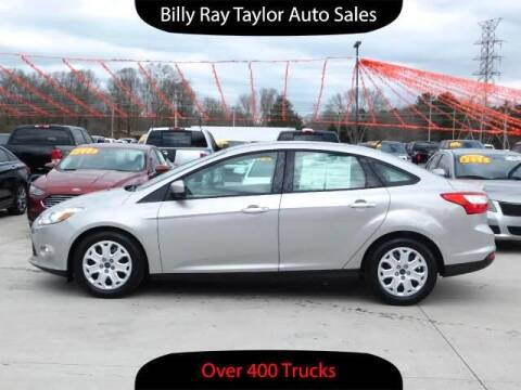 2012 Ford Focus for sale at Billy Ray Taylor Auto Sales in Cullman AL